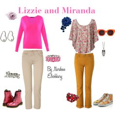 Lizzie and Miranda (Lizzie McGuire) Inspired Outfits