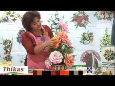 Rosas Moldes de Flores para hacer Arreglos https://youtu.be/ndz-KBtmApY enrosa Fomi, Goma EVA HD - YouTube