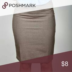 The Limited brown pencil skirt The Limited brand brown pencil skirt The Limited Skirts Pencil