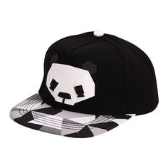 ed6db7e9289f9 Men Women Panda Adjustable Unisex Hip Hop Baby Baseball Hat Snap back Cap 6  Style