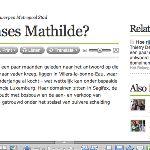 De vennootschappen van koningin Mathilde...