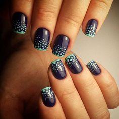 Make French nails yourself at home - Beauty Nails Bright Nail Designs, Best Nail Art Designs, Short Nail Designs, Simple Nail Designs, Acrylic Nail Designs, Beautiful Nail Designs, Gel Nail Polish, Gel Nails, Acrylic Nails