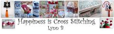 Some nice tutorials here    Happiness is cross stitching      !
