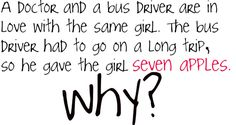 A doctor and a bus driver are both in love with the same woman. An attractive…