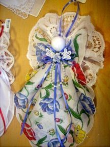 Carolina Creations Fine Art and Contemporary Craft: Search results for Shirley Erickson Christmas Angel Crafts, Christmas Projects, Holiday Crafts, Christmas Ornaments, Christmas Diy, Dyi Crafts, Fabric Crafts, Sewing Crafts, Shabby Chic Crafts