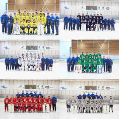 Tackla hockey, the teams for the 2017 IIHF Hockey Development Camp!