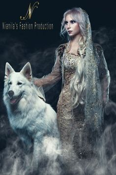 Wolves And Women, Butterfly Quotes, Background Images For Editing, Wolf Pictures, White Witch, Anime Wolf, Dragon Art, Art Girl, Fantasy Art