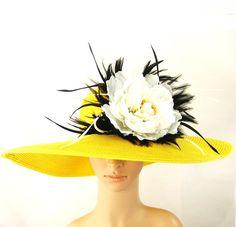 Derby Hat Tea Party Hat Wedding Hat Dress Hat by theoriginaltree, $69.97