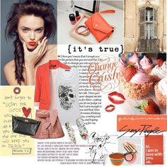 Adventures in Orange, created by ginevra-18 on Polyvore