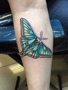 Spanish Luna Moth! Thanks Amber!!!