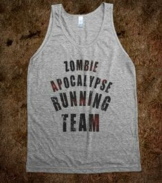 Zombie Apocalypse Running Team - That Kills Me - Skreened T-shirts, Organic Shirts, Hoodies, Kids Tees, Baby One-Pieces and Tote Bags