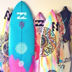 Awesome surfboards