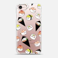 Casetify iPhone 7 Snap Case - Awesome Sushi by Mint Corner