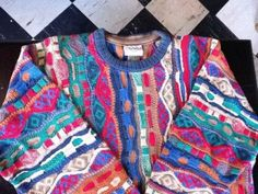 Cosby sweater $79.99 (real Coogi? I dunno... collar/cuffs seem too plain)