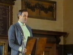 """Graham Chapman's funeral service eulogy by John Cleese starting with the Monty Phython """"Parrot Sketch"""""""