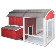 Old Red Barn Chicken Coop