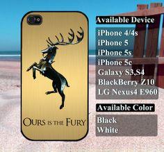 Game of thrones Targaryen case  iPhone 4/4s iPhone5 by vallenshop, $13.50
