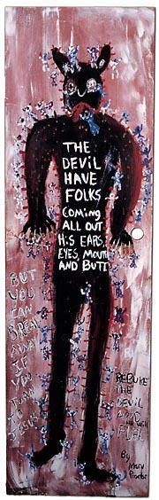 Paintings Initiative Long Way Home Hoke Outsider Painting Abstract Art Brut Raw Vision Naive Original