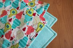 Baby Blanket Pear Blanket by TheWakingHours on Etsy