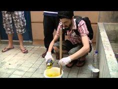 Γιορτή Πελίτι: Πως να φτιάξετε σαπούνι από ελαιόλαδο - YouTube