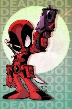 lil Deadpool by *Red-J