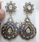 EXTRAORDIN​ARILY CRAFTED VICTORIAN ROSE CUT DIAMOND SILVER EARRING DANGLEThis seller accepts PayPal Buy it now	$299.00
