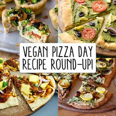 """Any of these toppings on flatbread, or just tomatao slices with the mayo/parm topping is a wonderful, as a single meal. If I'm extra hungery I add some Costco rotisserie chicken. """"Vegan Pizza Day Round-Up! 