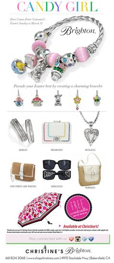 Candy Girl! Get your Easter & Spring Charms now!