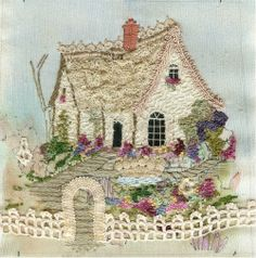 beautiful embroidered cottage