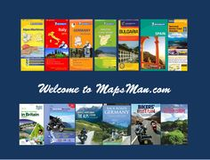 Motorcycle Map, Michelin Maps, Motorcycle Tours, Motorcycle Touring, Motorbike Rides, Motorcycle Atlas, Motorbike Routes