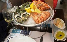 Lisabona - ottima cucina, lumache dall'Oceano Atlantico
