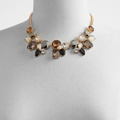 Shop Necklaces at ALDOShoes.com & browse our latest collection of accessibly priced Necklaces for Women, in a wide variety of on-trend styles. Aldo Shoes, Fashion Necklace, Bronze, Fashion Trends, Necklaces, Jewelry, Shop, Women, Collection