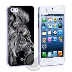 Lion Animal King iPhone 4, 4S, 5, 5C, 5S Samsung Galaxy S2, S3, S4 Cas – iCasesStore