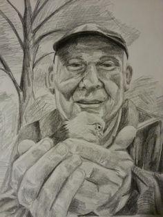 Sasha's father. Graphite on paper. dragonflyartstudios.com Dragonfly Leathrum Newark, DE Graphite, Father, Drawings, Art, Graffiti, Pai, Art Background, Kunst, Sketches
