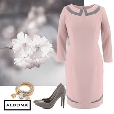 #fashion #autumn #fall #2016 #aldona #ootd #outfit #rose #grey