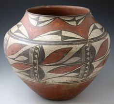 Zia Pueblo Pottery - Zia Olla