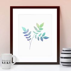 Gorgeous Watercolor Botanical Printable