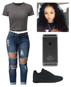 """Untitled #89"" by rashalabieber on Polyvore featuring NIKE"