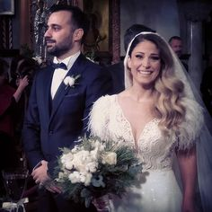 To the sweetest bride and groom Nikoleta and Kimonas Congratulations from all of us Lace Wedding, Wedding Dresses, Thessaloniki, Bridal Bouquets, Congratulations, Groom, Bride, Sweet, Instagram