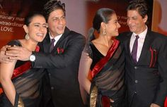 Shah Rukh Khan and Kajol on CNWK