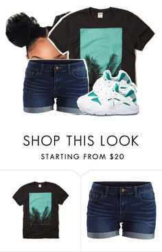 """""""Strawberry Swing"""" by queen-tiller ❤ liked on Polyvore featuring Hollister Co., VILA and NIKE"""