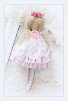 Тильда. Текстильная кукла в стиле Тильда от Анны Сушко Tilda dolls annasushko.jimdo.com