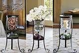 #partylite floor stand with hurricane