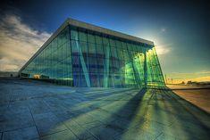 Oslo Opera House, Oslo, Norway (designed by Snøhetta)