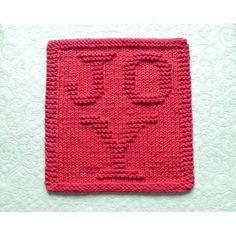 Dishcloth Knitting Patterns, Knit Dishcloth, Hand Knitting, Secret Santa Gifts, Cat Pattern, Christmas Knitting, Red Christmas, Holiday, Hostess Gifts
