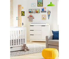 Bright and happy boy nursery rooms on Kids Interiors