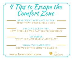 Life happens outside your comfort zone. If you want to build a successful home-based business, chances are you will have to reach out of this zone. #multilevelmarketing #homebasedbusiness