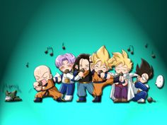 Game Dragon Ball Z is actually a super action game. It is sure that everyone kno… Dragon Ball Gt, Dragon Ball Z Shirt, Dragon Z, Baby Dragon, Anime Chibi, Kawaii Anime, Akira, Trunks And Mai, Goku And Chichi