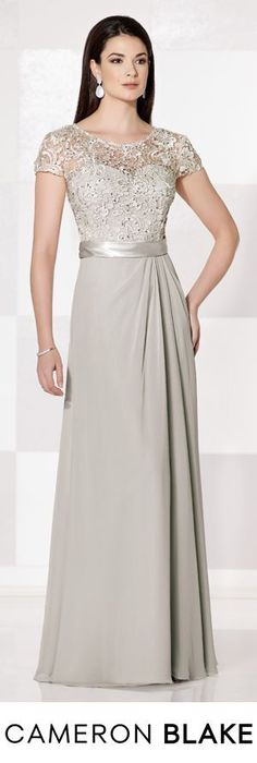 @roressclothes clothing ideas #women fashion gray maxi dress Cameron Blake Fall 2015