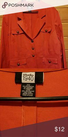 WEEKEND SALE Coral woman's blazer Very Nice Fashion Bug Jackets & Coats Blazers
